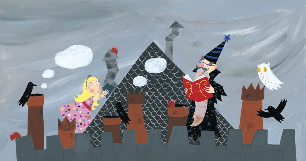 The Princess And The Wizard Lydia Monks